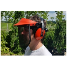 Veido apsauga su ausinėmis NEVADA