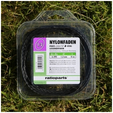 """Pjovimo valas """"Nylonfaden"""" 1,3 mm, 15 m"""