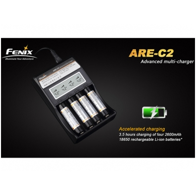 Fenix akumuliatorių kroviklis ARE-C2 2