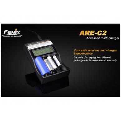 Fenix akumuliatorių kroviklis ARE-C2 3