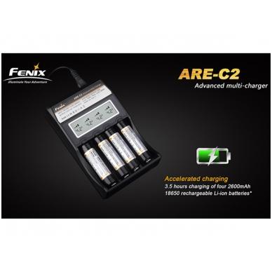 Fenix akumuliatorių kroviklis ARE-C2 4