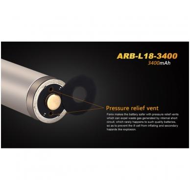 Fenix akumuliatorius 18650 ARB-L18-3400 2