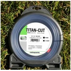 """Pjovimo valas """"TITAN-CUT"""" 2,5 mm 4-KANT 40 m"""
