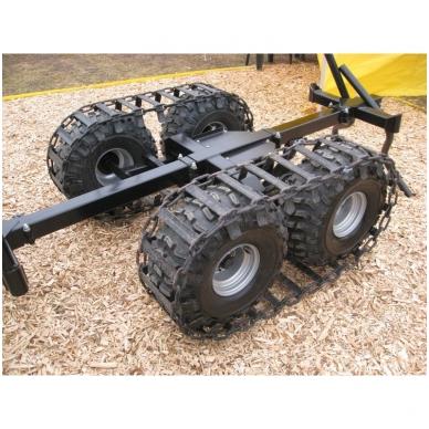 2WD sistema priekabai T15 2