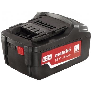 Akumuliatorinė baterija 18 V/5,2 Ah Li