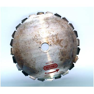 Pjovimo diskas, freza 225/20/1.8 mm 2