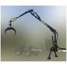 "Hidromanipuliatorius - kranas 320 + hidraulinis siurblys ""Honda HD10"""