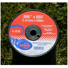 "Pjovimo valas ""OVAL 2,4 mm  ""Wortex"" 208 m"