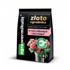 Agrovermikulitas vazoninėms ir balkoniniams augalams 4 litrų