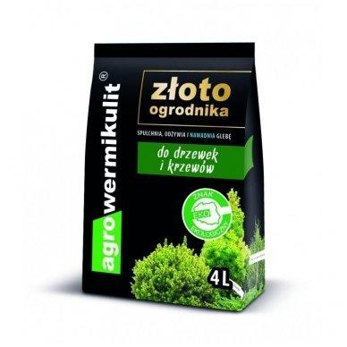 Agrovermikulitas medeliams 4 litrų