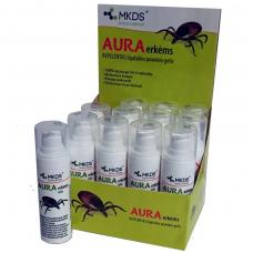 Aura erkėms - ant odos tepamas repelentas nuo erkių, 30 ml.
