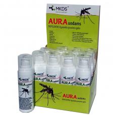 Aura Uodams - ant odos tepamas repelentas nuo uodų , 30 ml