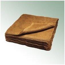 Džiutinis audinys šaknų surišimui 80 cm x 80 cm (100 vnt.)