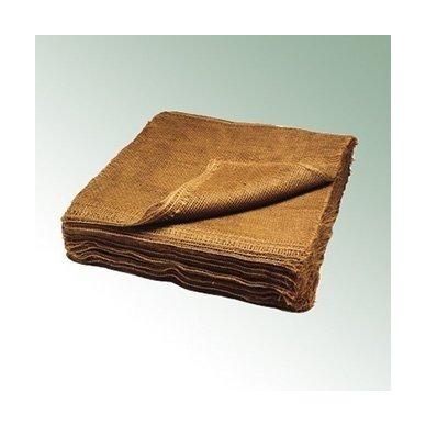 Džiutinis audinys šaknų surišimui 120 cm x 120 cm (50 vnt.)