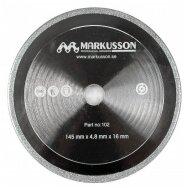 Galandinimo diskas deimantinis MARKUSSON 145X4,8X16