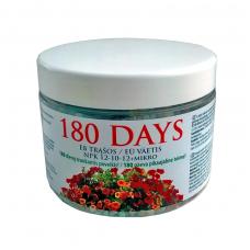 Ilgo veikimo trąšos 180 Days žydintiems augalams 500 g