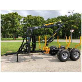 Forest trailer COUNTRY T70
