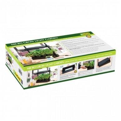 Micro Grow Light Garden daigykla 11 W juoda 5