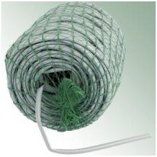 Plastikinė virvelė medžių tvirtinimui, pilka,  ø 7 mm, 50 m