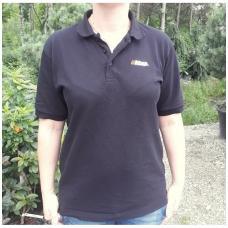 Polo marškinėliai ECHO, juoda