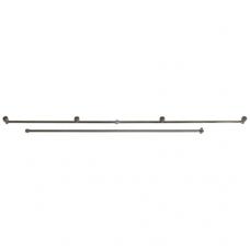 Purškimo vamzdis SOLO su 4 purkštukais ir 75 cm atvamzdis, 100 cm ( 4900300 )