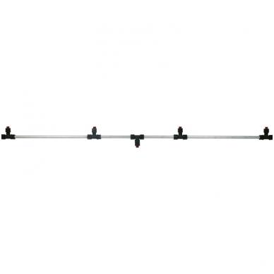Purškimo sija, aliuminė, 120 cm su 4 purkštukais SOLO (4900299)