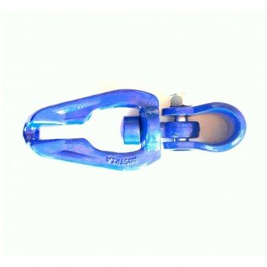 Užraktas trosui ir grandinei jungti 7/8 10K 8mm prasukamas SUSTIPRINTAS