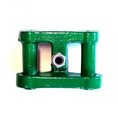 Vikšrų užraktas 26x120 mm GREEN